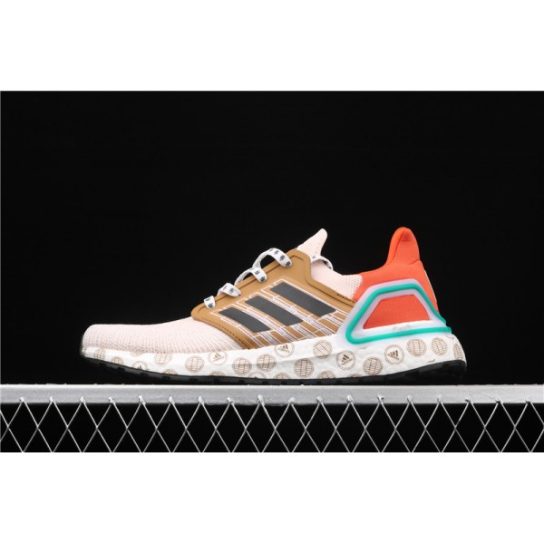 Men & Women Adidas Ultra Real Boost 20 Consortium In Pink Orange
