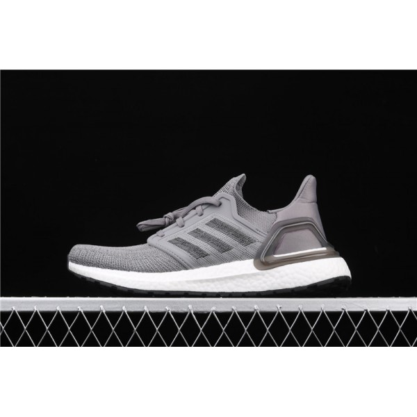 Men Adidas Ultra Real Boost 20 Consortium EG0705 Gray