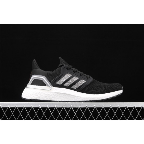 Men Adidas Ultra Real Boost 20 Consortium In Black Silver