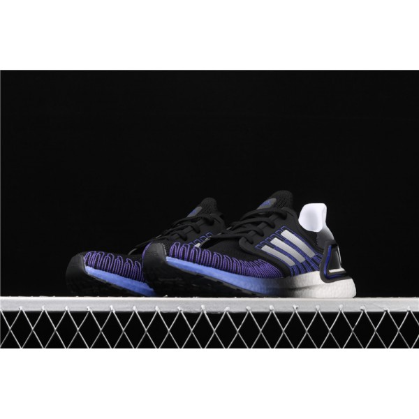 Men Adidas Ultra Real Boost 20 Consortium In Black Purple