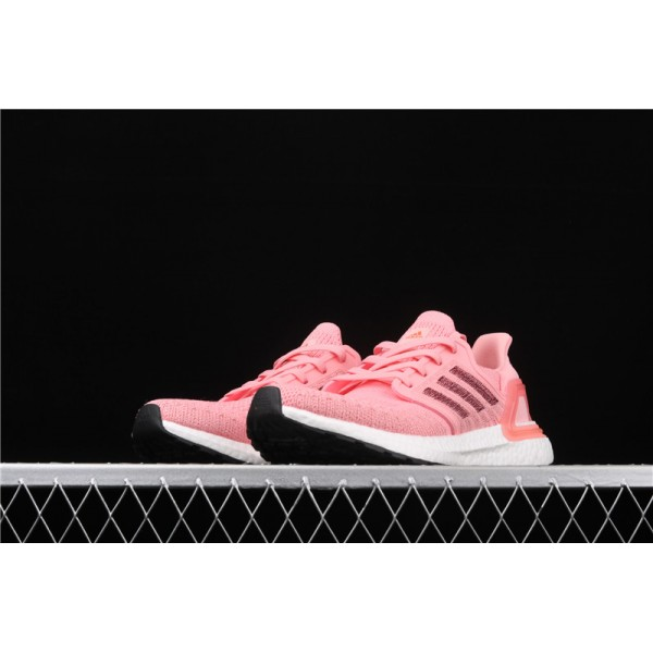 Women Adidas Ultra Real Boost 20 Consortium In Pink White