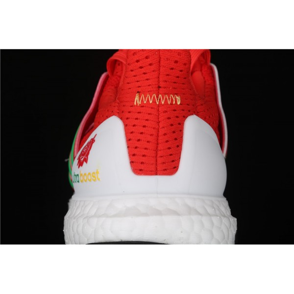 Men & Women Adidas Ultra Real Boost 2.0 In Red White