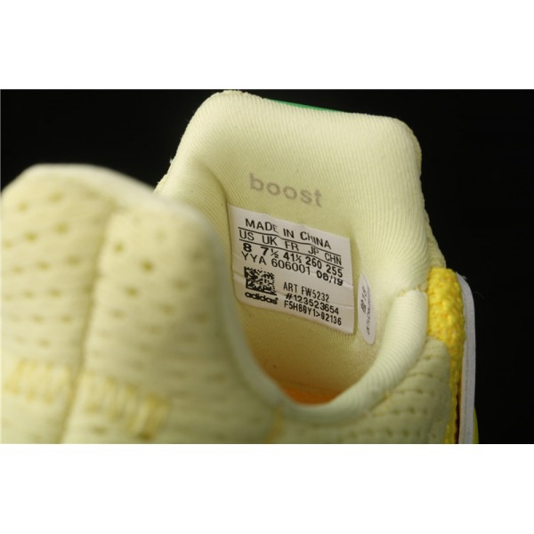 Men & Women Adidas Ultra Real Boost 2.0 In Yellow White