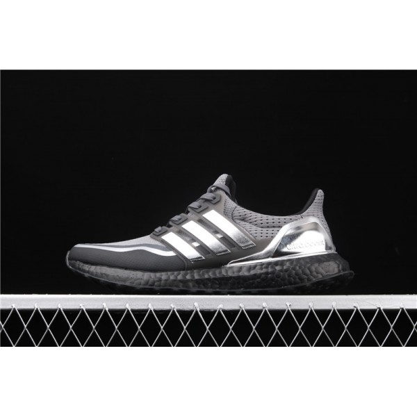 Men Adidas Ultra Real Boost 2.0 In Grey Silver