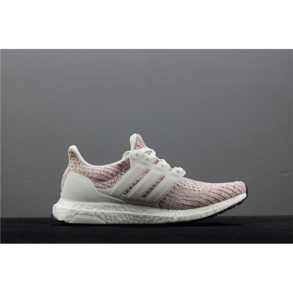 Men & Women Adidas Ultra Real Boost 4.0 BB6169 Red White