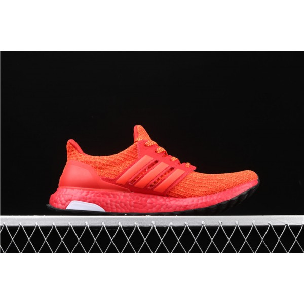 Men & Women Adidas Ultra Real Boost 4.0 FW3723 Red