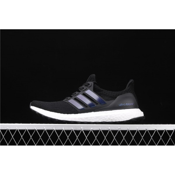 Men & Women Adidas Ultra Real Boost 4.0 FW5692 Black White