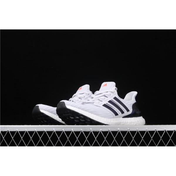 Men & Women Adidas Ultra Real Boost 4.0 In White Blue