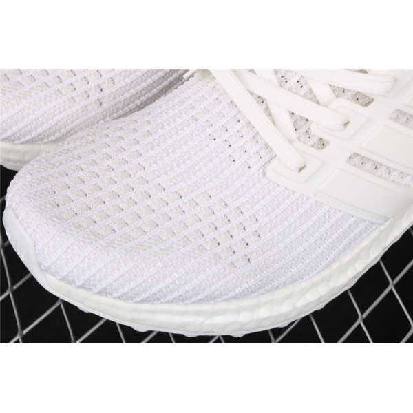 Men & Women Adidas Ultra Real Boost 4.0 Iridescent In White