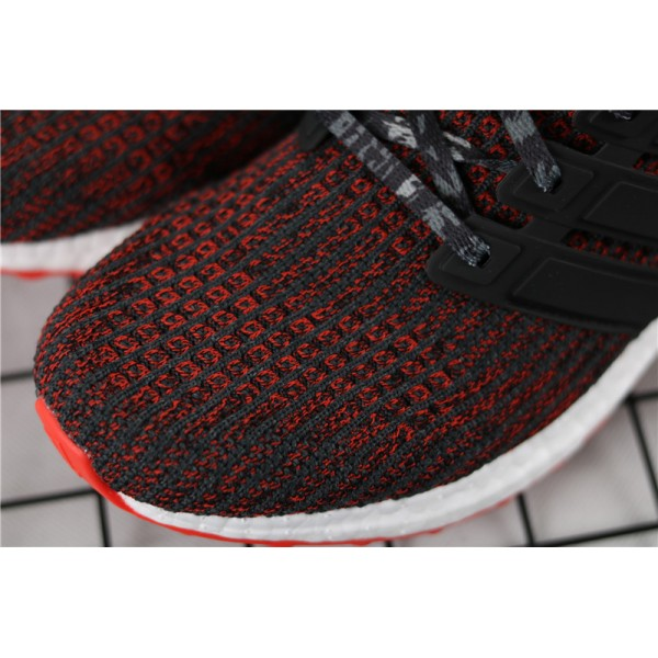 Men & Women Adidas Ultra Real Boost Basf 4.0 CNY In Red Black