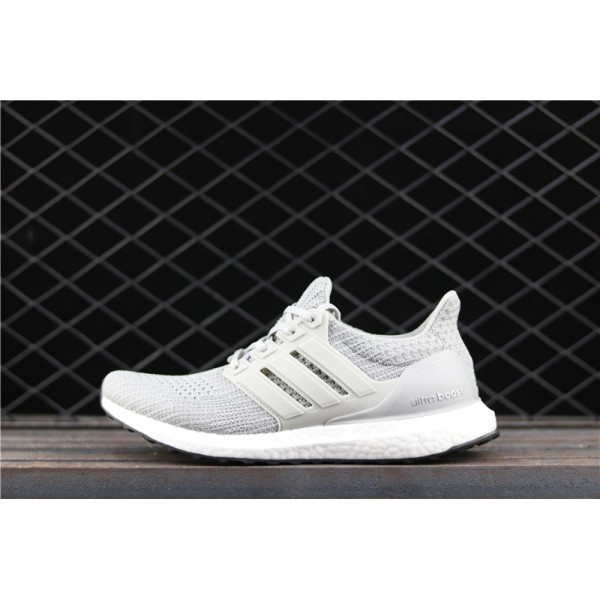Men Adidas Ultra Real Boost 4.0 BB6167 Smoke Grey
