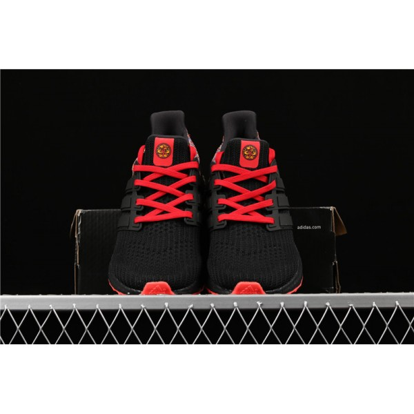 Men Adidas Ultra Real Boost 4.0 BY1756 Black Red