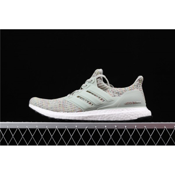 Men Adidas Ultra Real Boost 4.0 CM8109 Grey Multicolor