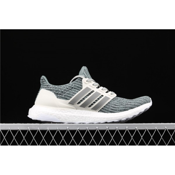 Men Adidas Ultra Real Boost 4.0 CM8272 Pale Mint Green