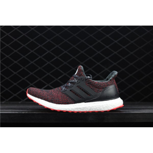 Men Adidas Ultra Real Boost 4.0 CNY BB6173 Black Red