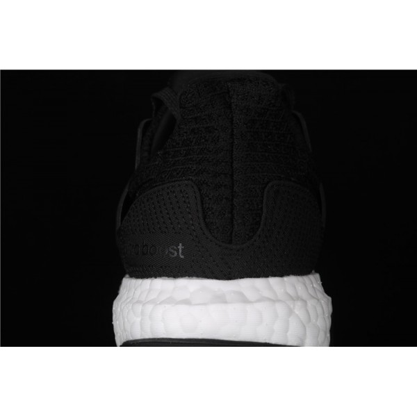 Men Adidas Ultra Real Boost 4.0 EH1422 Black White