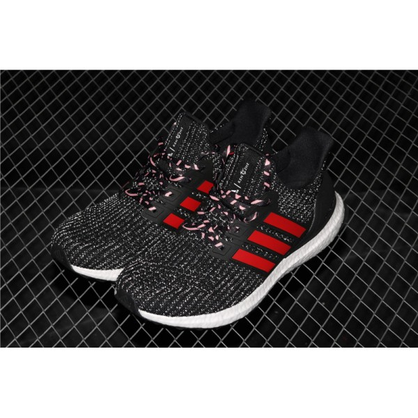 Men Adidas Ultra Real Boost 4.0 F35231 Black Red