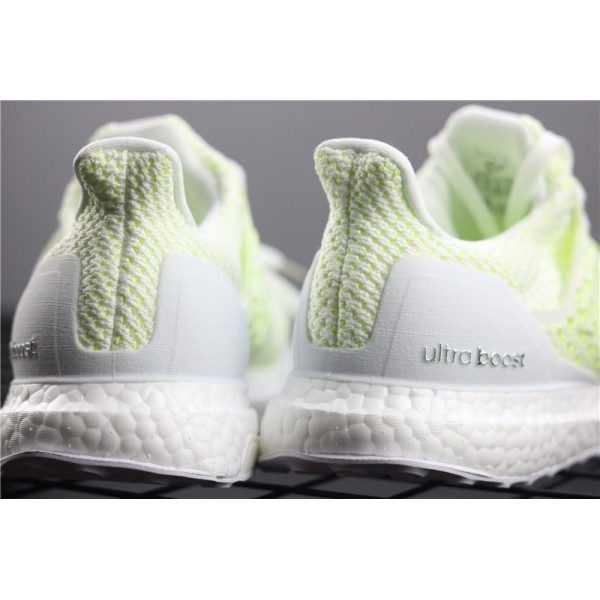 Men Adidas Ultra Real Boost Clima 4.0 AQ0481 White