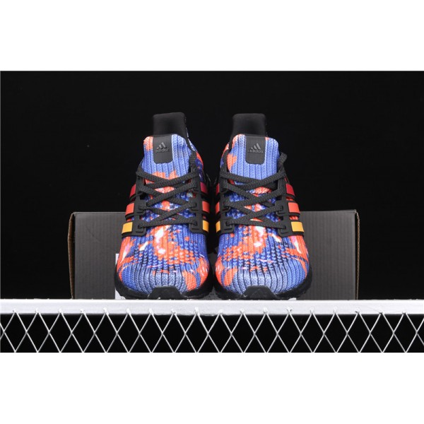 Men Adidas Ultra Real Boost FV7279 Blue Red