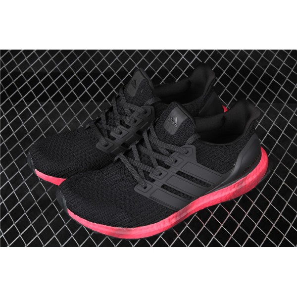 Men Adidas Ultra Real Boost FV7282 Black Red