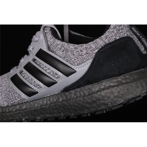 Men Game Of Thrones x Adidas Ultra Real Boost 4.0 In Dark Grey Black