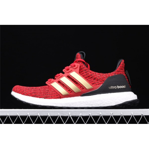 Men Game Of Thrones x Adidas Ultra Real Boost 4.0 In Red Golden