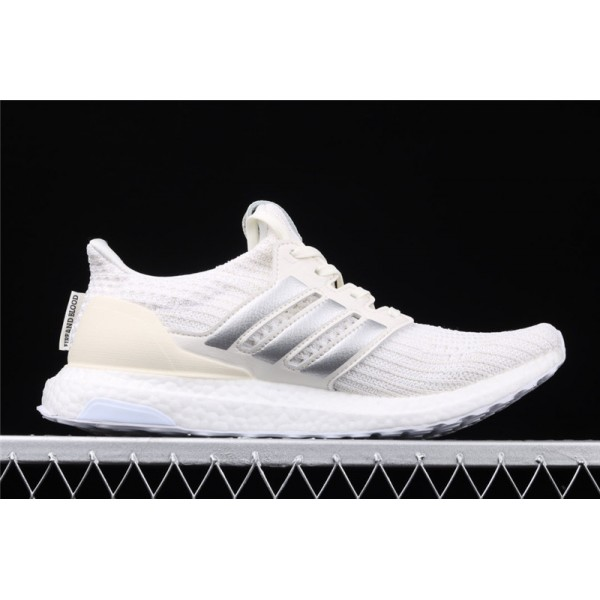 Men Game Of Thrones x Adidas Ultra Real Boost 4.0 In Cream Silver
