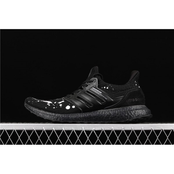 Men Madness x Adidas Ultra Real Boost 4.0 In Black White