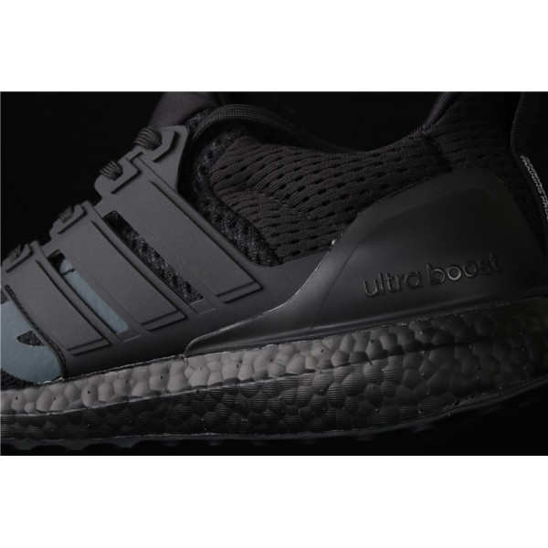 Men Undefeated x Adidas Ultra Real Boost In Black