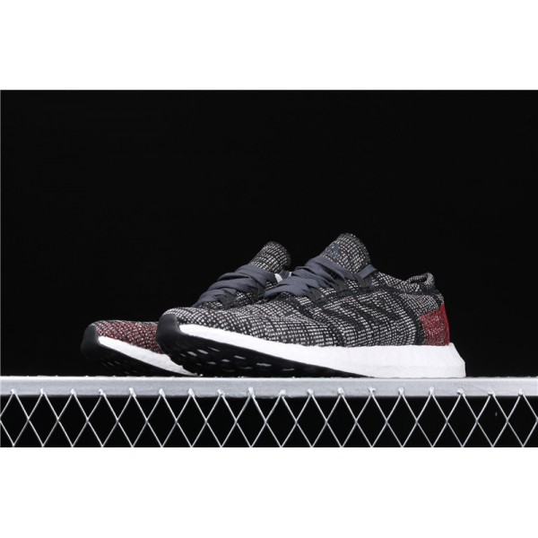 Men Adidas Pure Real Boost Go In Gray Black
