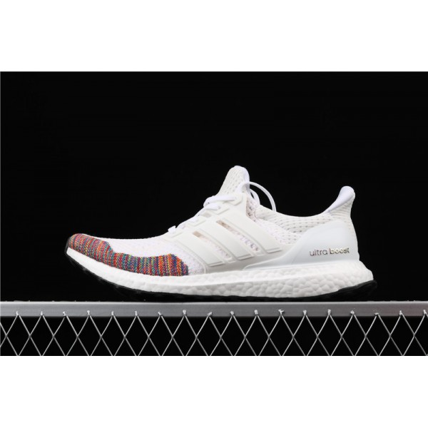 Men Adidas Ultra Real Boost 10 Multicolor Toe In White Smoke Grey