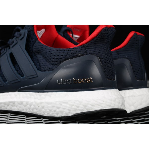 Men Adidas Ultra Real Boost 10 Multicolor Toe In Blue Colorful