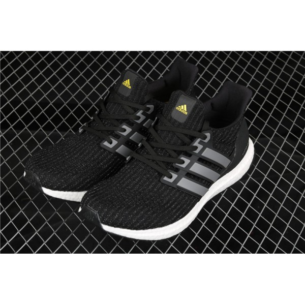 Men Adidas Ultra Real Boost LTD In Black White