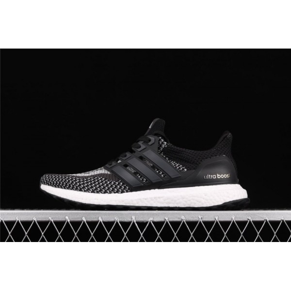 Men Adidas Ultra Real Boost LTD Reflective In Black Gray